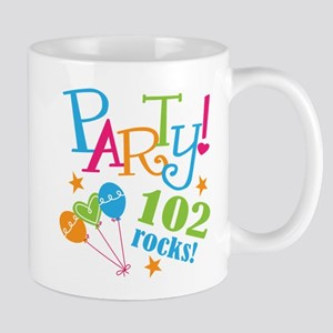 102nd Birthday Party Mug